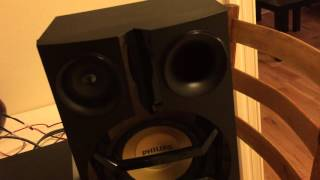 getlinkyoutube.com-Philips FX55/12 aka FX15 and FX20 Speakers on a NAD C315BEE amplifier - Are they any good?