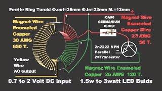 getlinkyoutube.com-Make Emergency Light DIY-Circuit!