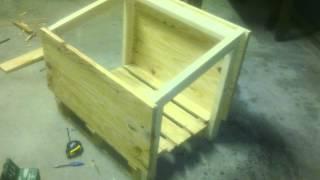 getlinkyoutube.com-Casa para perro casera con madera reciclada