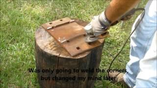getlinkyoutube.com-Building a railroad track anvil