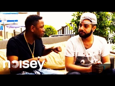 Compton MC Kendrick Lamar Interviewed By Hima From Das Racist - Rap Show #01