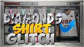 getlinkyoutube.com-NBA 2K17 | HOW TO DO THE DIAMOND/GLITTER SHIRT GLITCH!!