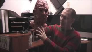 getlinkyoutube.com-Freddy Krueger Silicone Mask Review