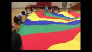 getlinkyoutube.com-Middle School Parachute Activities