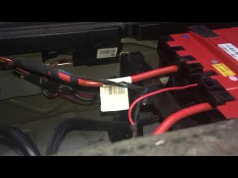 Как отрыть багажник bmw f25 без АКБ