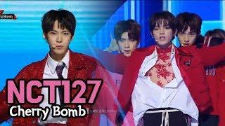 NCT 127 - Cherry Bomb, 엔시티 127 - 체리밤 @2017 MBC Music Festival