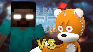 getlinkyoutube.com-Herobrine vs Tails Doll. Épicas Batallas de Rap del Frikismo ¡Bonus! | Keyblade
