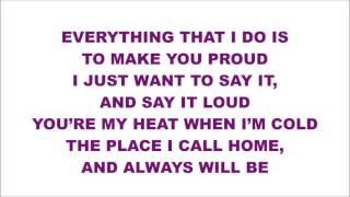 I PROMISE - Harris J (lyrics)