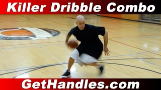 getlinkyoutube.com-Killer Dribble Combo Tutorial! Break Ankles with the Behind the Back into Spin
