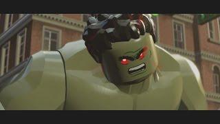 getlinkyoutube.com-LEGO Marvel's Avengers - Iron Man v Hulk (Boss Battle) [1080p 60FPS HD]