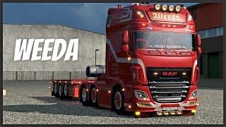 getlinkyoutube.com-ETS2 1.19 - DAF XF EURO 6 WEEDA (Euro Truck Simulator 2)