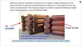getlinkyoutube.com-How To Make Lincoln Logs