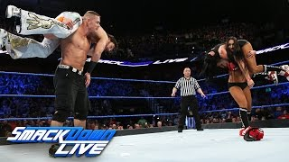 John Cena vs. Fandango: SmackDown LIVE, March 21, 2017