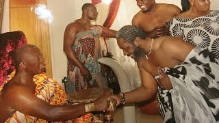 getlinkyoutube.com-Asanteman of North America's delegation meets with the Asantehene