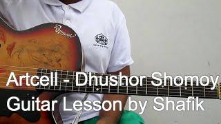 getlinkyoutube.com-ARTCELL - Dhushor Shomoy (Tutorial_Guitar Lesson)