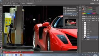 getlinkyoutube.com-Ferrari Enzo Virtual Tuning Photoshop