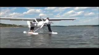 getlinkyoutube.com-Flightdesign CTLS on Floats by Airtime Aviation