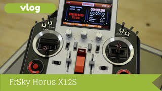 FrSky Horus X12S Radio - unboxing and quick look