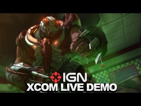 XCOM Enemy Unknown E3 2012 Gameplay Demo - IGN Live