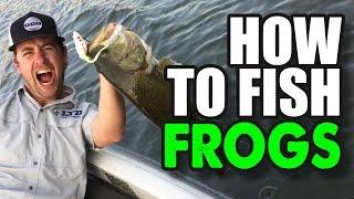 getlinkyoutube.com-The Best How To Frog Fishing Tips