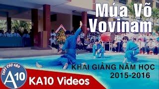 getlinkyoutube.com-VOVINAM | Múa Võ VOVINAM  - Trường THPT Chợ Gạo (Lễ Khai Giảng Năm Học 2015-2016) [FULL | OFFICIAL]