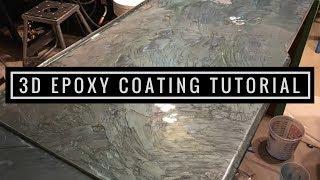 3D Metallic Epoxy Coating Tutorial