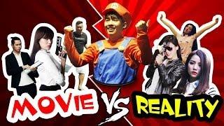 getlinkyoutube.com-Phở 9: PHIM ẢNH vs THỰC TẾ (Movie vs Reality) [Clip Hài Hước]