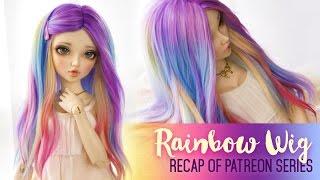 getlinkyoutube.com-Custom Rainbow Wig RECAP - Patreon Exclusive Series