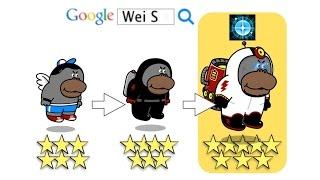 getlinkyoutube.com-LINE Rangers 進化寵物:8☆英雄查爾斯-守護之光技能 Spaceman CHARLES (Stage 216)
