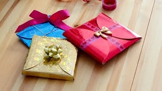 DIY How to make cheap, quick and easy gift wrapping in 5 minutes.