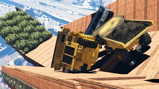 getlinkyoutube.com-IMPOSSIBLE CITY AVALANCHE! (GTA 5 Funny Moments)