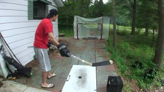 getlinkyoutube.com-Improve your Slapshot Accuracy with these EASY steps