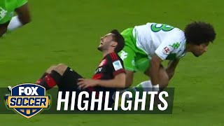 getlinkyoutube.com-Bayer Leverkusen vs. VfL Wolfsburg | 2015-16 Bundesliga Highlights