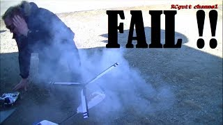 getlinkyoutube.com-Bomb in face - Rocket fun - Sperm plane crash - Easter Action