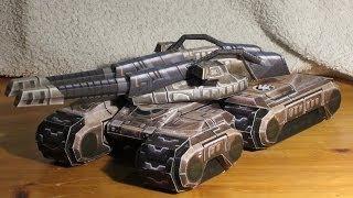 getlinkyoutube.com-Mammoth Mk. III papercraft | command & conquer 3: Tiberium Wars