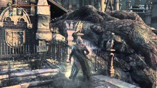 getlinkyoutube.com-フル強化の[教会の杭]能力とモーション 試し打ち  ブラッドボーン オールドハンターズ  DLC【Bloodborne: The Old Hunters】
