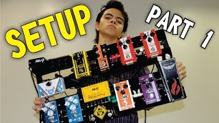 getlinkyoutube.com-Setup Juninho Nakagawa - Parte 1 (Bobber Wah, Phaser CS & Phaser Fire)