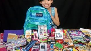 getlinkyoutube.com-Girls Back To School Supplies Haul + Givewaway!!! -KidToyTesters (Closed)