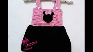 getlinkyoutube.com-كروشية فستان مينى ماوس |خيط وإبرة |  Crochet  Minnie Mouse dress