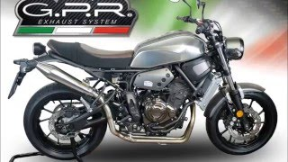 getlinkyoutube.com-YAMAHA XSR 700 SPECIAL KIT GPR EXHAUST SYSTEMS VIDEO CATALOGUE & INSTRUCTIONS