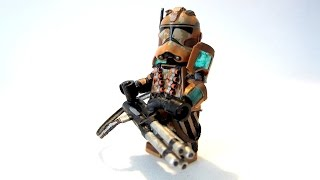 Custom LEGO - Star Wars - Geonosis Clone Heavy Gunner - Ray Shield Armor - Minifigure