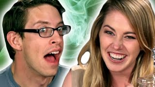 getlinkyoutube.com-Americans Try Absinthe For The First Time