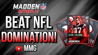 getlinkyoutube.com-How To Beat NFL Domination Live Event! Madden Mobile 16 Tips