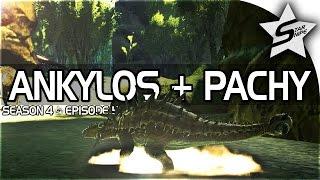 "getlinkyoutube.com-ARK: Survival Evolved Gameplay Part 5 - ""SPECIAL SURPRISE & ANKYLO TAMING!"" (Season 4)"