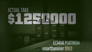 getlinkyoutube.com-GTA5 - How to get 100% cash in pacific standard robbery - suicide trick & shortcut route
