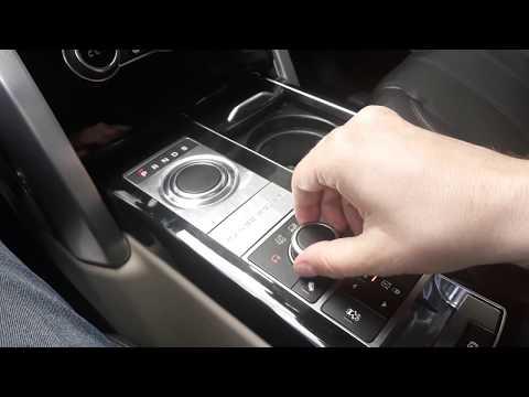 Динамичекий режим Range Rover Rover Sport (Dynamic mode) - включение и выключение режима