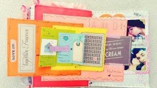 getlinkyoutube.com-LIBRETA PARA MI NOVIO ♥ Scrapbook ♥ Regalo San Valentin