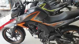 getlinkyoutube.com-Honda Hornet 160R Special Edition Mars Orange and Striking Green
