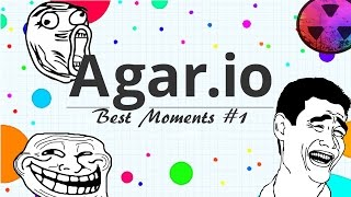 Sasquatch Agario // Agar.io Best Moments #1