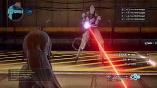 Sword Art Online: Fatal Bullet - Gameplay Video